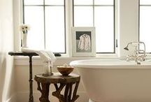 BATH / Beautiful and inspiring bathrooms, fixtures and tiles. / by Sue De Chiara | The Zhush