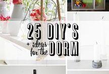 college dorm ideas! / by Sarah Shackelford