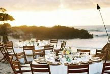 Stylish Beach Wedding / by Sara Pavlatou