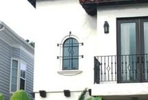 Decorative Iron Accents: Balconies, Grilles, and Cages / Wrought iron decorative accents are a great way to add curb appeal to your home, or decorate your garden. Check out some of these products to boost the look of your exterior, from iron accents to faux balconies.