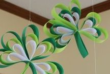 ~DIY  ♣ IRISH CRAFTS  ~ / Irish crafts for St. Patrick's Day / by Sheila Anne