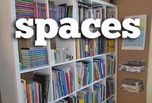 iHN Homeschool Spaces / Homeschool rooms, bookshelves, desks, craft cabinets, chalkboards, book baskets -- any place you might do homeschool in your home and how to make it more beautiful or more functional.