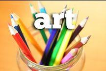 iHN Art for Homeschool / All aspects of art education -- artists of history, art appreciation, museum visits, creating art.