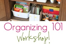Organizing by Sara / Here's some awesome ideas for organizing, Dad! Love, Sara :) / by Don Boehm
