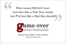 Street Smart Love Advice / Meet The Love Pros Charles J Orlando + Lisa Steadman. Dishing up real world, street smart relationship advice, breakup tips, marriage insights, + dating expertise @ https://www.youtube.com/user/thegameovertvshow