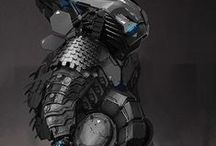 Character/Gear Design - SciFi