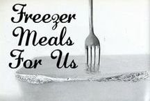 Freezer Cooking - Once A Month Cooking / Great recipes and resources for freezer/once a month cooking.