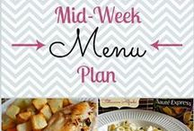 Menu Planning / Find the recipes and sites I use to build my menu plan!