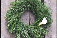 Hooks & Lattice Wreaths: Display Beauty! / Home decor at it's finest, wreaths are a beautiful way to add some color to your home. Whether displayed indoors or outdoors, wreaths are an inviting bit of appeal for your home. Get your faux or live wreath, today!