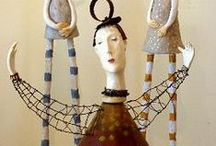 /clay, paper mache, art and tutorials / by Lynn Noone