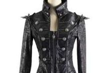 WOMEN'S COATS / Gothic, Industrial, Cyber, Steam Punk trench coats and jackets. / by Rivithead