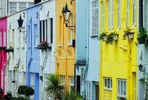 colorfull houses