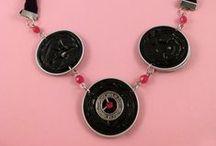 """My creations: """"Coffee capsules"""" / Bijoux realizzati con le cialde del caffè"""