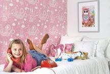 Kids Wallpaper / Lovely wallpaper for kids rooms