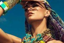 Boho Gypsy Chic / I'd rather wear flowers in my hair than diamonds on my body. / by Zenobia Sethna