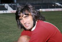 "GEORGE BEST / George Best (22 May 1946 – 25 November 2005) was a Northern Irish professional footballer who played as a winger for Manchester United and the Northern Ireland national team. In 1968 he won the European Cup with United, and was named the European Footballer of the Year and FWA Footballer of the Year. He is described by the national team's governing body, the Irish Football Association, as the ""greatest player to ever pull on the green shirt of Northern Ireland"".["