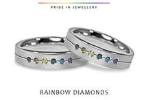 LGBT Diamond Engagement Rings for Fabulous Gay & Lesbian Couples. / Stunning collection of diamond engagement rings from Woolton & Hewitt the LGBT specialst jewellers https://www.wooltonandhewitt.co.uk/engagement