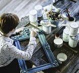 Moje prace - meble malowane farbami kredowymi / Moje meble malowane farbami Autentico
