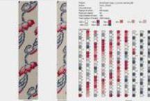 Beaded crochet rope-schema