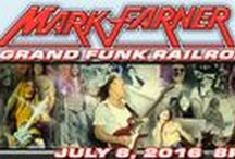 MARK FARNER Formerly of Grand Funk Railroad at The Newton Theatre / One of rock's true legends, Mark Farner fronted the historic 1970s rock power trio Grand Funk Railroad, as singer, lead guitarist and songwriter. Grand Funk Railroad broke ground as America's preeminent pre-heavy metal band, establishing itself in the '70s with landmark hits like I'm Your Captain (Closer to Home) and chart-topper We're An American Band. Farner is back out on the road and sounding better than ever!