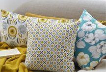 Beau linge de maison / Coussins, plaids, boutis... de la décoration de maison pour se lover dans son canapé et décorer son intérieur avec douceur et les plus belles tendances maison.
