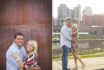 Engagements - Downtown Nashville by Krista Lee Photography