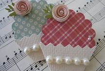 Crafts - Cupcakes / Cards, frames ...