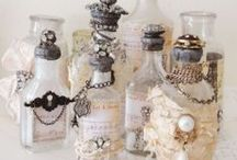 Everything in Glass / Bottles, bowls, cups, jars, vases ...