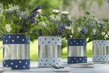 Crafts - Cans / Reuse and decor