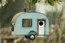 Birdhouses and Cages / Feeder and birdhouses; decor and reuse
