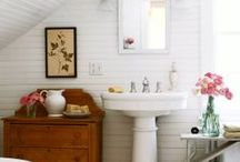 Bathrooms / Decoration and organization.