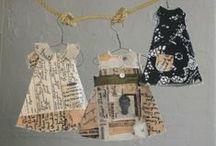 Crafts - Dresses  /  Artesanato - Vestidos / Box, cards, frames, templates ... Caixas, cartões, quadros, moldes ...