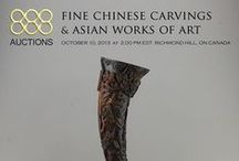 October 10, 2013 FINE CHINESE CARVINGS & ASIAN WORKS OF ART / 515 Lots of Asian Antiques Lot 1 - 108 Paintings  Lot 109 - 170 Jadeite  Lot 171 - 211 Nephrite  Lot 212 - 275 Stones  Lot 276 - 283 Jewellery  Lot 285 - 290 Snuff Bottles Lot 290 - 291 Stamps & Money Lot 292 - 416 Ceramics  Lot 417 - 448 Metalware  Lot 449 - 486 Natural History  Lot 487 - 506 Wood  Lot 507 - 515 Furniture   Preview Dates: Saturday Oct 5, 11 am - 5 pm  Monday Oct 7, 11 am - 6 pm  Tuesday Oct 8, 11 am - 6 pm  Wednesday Oct 9, 11 am - 6 pm  Thursday Oct 10, 11 am - 1 pm