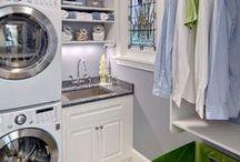Laundry Room  /  Lavanderia / Decoration and organization. Decoração e organização.
