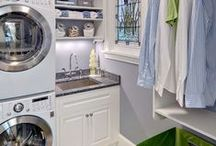 Laundry Room / Decoration and organization