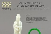 Chinese Jade & Asian Works of Art / Auction Date: November 7, 2013 2:00 pm EST  533 Lots  Preview  Saturday Nov 2, 11 am - 5 pm,  Monday Nov 4, 11 am - 6 pm,  Tuesday Nov 5, 11 am - 6 pm,  Wednesday Nov 6, 11 am - 6 pm,  Thursday Nov 7, 11 am - 1 pm.