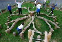 Casas na árvore, em casa, no jardim e outras ideias... / Criar no exterior pequenos ou grandes espaços de magia...