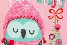 Illustrations / Christmas, Sarah Kay and others ...