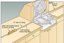 Woodshop Setup / Whatever is needed for a woodshop and to organize it. / by Gwen