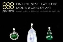 January 16, 2014 Fine Chinese Jewellery, Jade & Works of Art / Auction Starts on Thursday January 16, 2014 2:00 pm EST  PREVIEW DATES Saturday, Jan 11 from 11 AM to 5 PM,  Monday, Jan 13 from 11 AM to 6 PM,  Tuesday, Jan 14 from 11 AM to 6 PM,  Wednesday, Jan 15 from 11 AM to 6 PM, Thursday, Jan 16 from 11 AM to 1 PM.  WELCOME RECEPTION:  Thursday Jan 16, 12 PM to 1 PM. Serving Appetizers and Refreshments  Shipping: Auction House will ship, at Buyer's expense  Buyers Premium: 20.00%
