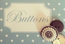 Crafts - Buttons  /  Artesanato - Botões / Many projects. Muitos projetos.