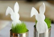 Easter / Crafts: easter and rabbits