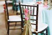 casamento • cadeiras