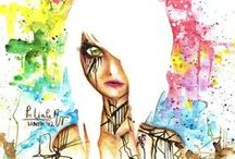 Art - Abstarct, dye
