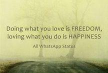 ::: WhatsApp Status ::: / Best WhatsApp Status Ever At : www.allwhatsappstatus.blogspot.com
