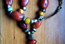 MY LITTLE WORK / One of a kind jewelry to give a new life to ancient collectible beads with a history.