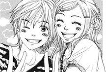 Anime & Manga monochrome