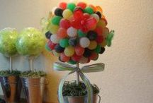 Candy - Crafts & Decorations / Decorating & Crafting with Candy / by Shelly Tanber