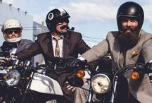 Distinguished Gentleman's Ride. / bikes