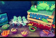 Aydens 2nd Dinosaur Birthday Party / DIY Dinosaur Birthday Party